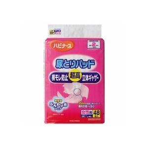 ピジョン ハビナース 尿とりパッド 横モレ防止超高立体ギャザー 女性用 1セット(288枚:48枚×6パック)|tanomail
