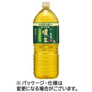 伊藤園 おーいお茶 濃い茶 2L ペットボトル 1セット(12本:6本×2ケース)
