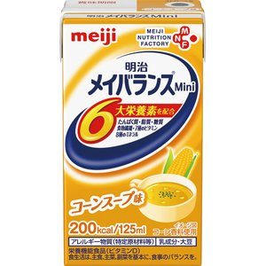明治 メイバランスMini コーンスープ味 125ml 1ケース(24本) (お取寄せ品)