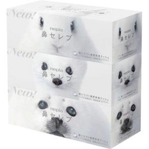 王子ネピア ネピア 鼻セレブティシュボックス 200組/箱 1セット(30箱:3箱×10パック)