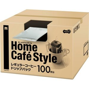 TANOSEE Home Cafe Style ドリップパック 6.5g 1セット(200袋:100...