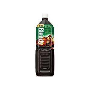 AGF ブレンディ ボトルコーヒー 無糖 1.5L ペットボトル 1セット(16本:8本×2ケース)