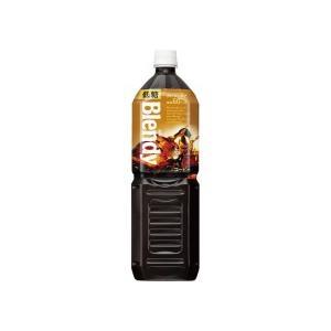 AGF ブレンディ ボトルコーヒー 低糖 1.5L ペットボトル 1セット(16本:8本×2ケース)