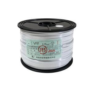 電源ケーブル 100m 巻 VFF 0.75 スプール巻 白|tanonmasuwa