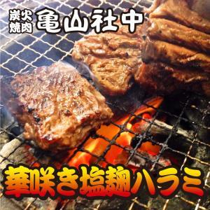 亀山社中 華咲き塩麹漬けハラミ 250g (BBQ バーベキュー)