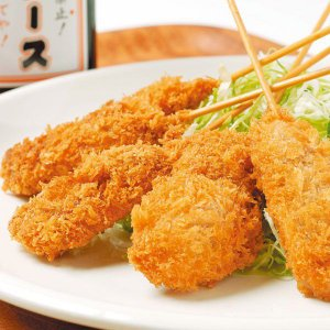 めっちゃ大阪 豚ロース 串カツ(5本)(串揚げ)