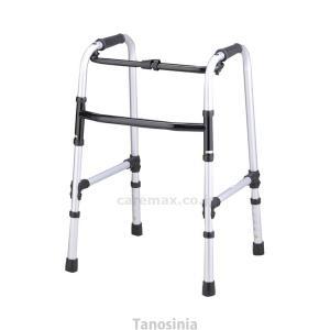 固定式歩行器 折りたたみ ホームタイプ リハビリ 歩行補助 高齢者用 介護用品 hkz|tanosinia