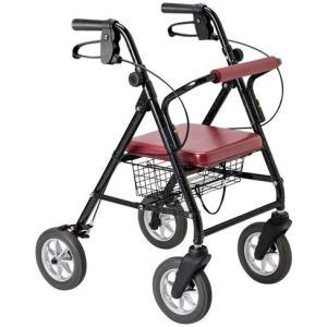 歩行器 介護 ハッピーミニ プレミアム 117004 歩行車 リハビリ 歩行補助 高齢者用|tanosinia