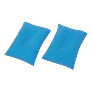ビーズパッド 小型マット 20×14cm 2枚1組  介護用品|tanosinia