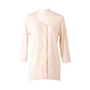 婦人用肌着 ワンタッチ 7分袖インナー LLサイズ 女性用 HW0134 介護用品 tanosinia
