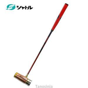マレットゴルフ用品 超硬質デュアルフェイスクラブ カラー/ピンクゴールド ハイパーボロンシャフト ツ...