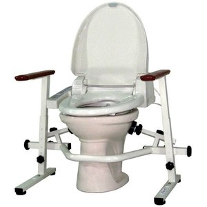 介護用品 洋式トイレ手すり といれって 肘掛スライド式 S-W|tanosinia