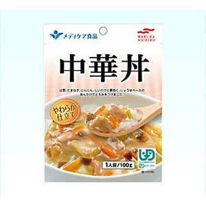 簡単!おいしく! 中華丼 区分2 歯ぐきでつぶせる 介護食 マルハニチロ 介護食品 レトルト|tanosinia