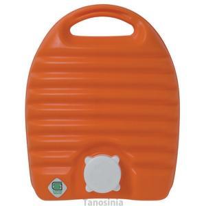 立つ湯たんぽ 袋付き / 2.6L仕様  ●サイズ/幅22×奥行11×高さ27cm ●重さ/500g...
