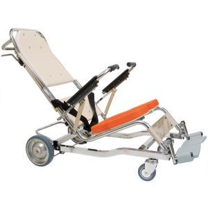無段階リクライニング シャワーキャリー AL8 No.5900 入浴用車椅子 介護用 tanosinia