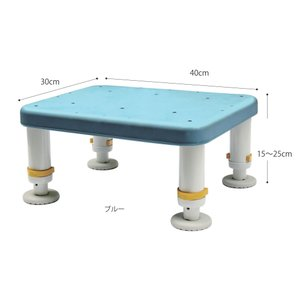 ダイヤタッチ浴槽台 (吸盤付) コンパクトサイズ 15-25cm すべり止め  介護用品 tanosinia