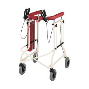 折りたたみ 歩行器 アルコー SH-X型 座面・ブレーキ付 hkz リハビリ 歩行補助 介護用 高齢者用|tanosinia