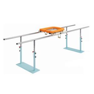 平行棒 アルコーEX-2型 補助マット サークル型付き 100594 リハビリ 歩行訓練  介護用品|tanosinia