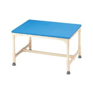 シャワーベンチ 介護用品 風呂椅子 入浴用いす 入浴台 マット固定タイプ アジャスター付 CAG-1 矢崎化工|tanosinia
