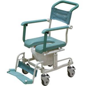 介護用 シャワーキャリー トイレットタイプ 4輪自由車 CAK-460矢崎化工 介護用品|tanosinia
