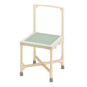 シャワーチェア 介護用品 風呂椅子 シャワーいす 背もたれ型 大 CAA-0301 高さ調整可能 アジャスター仕様 矢崎化工|tanosinia