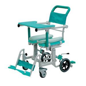 介護用 シャワーキャリー フロントレストタイプ アルミ製 CAK-600 矢崎化工 介護用品 入浴用車いす|tanosinia