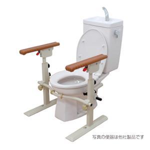 トイレ用たちあっぷII CKJ-02 トイレ用手すり 介護用品|tanosinia
