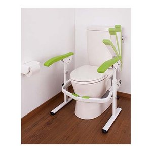 トイレ用手すり たよレール rest ハイスペック 手すり跳ね上げ 高さ調整  介護用品|tanosinia