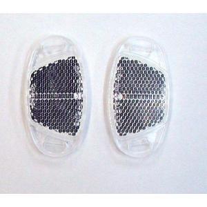 [2個までゆうパケット送料250円]ホイールリフレクター(反射板) クリアー|tanpopo