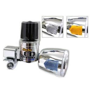 内容:一般車用(自転車用) ブロックダイナモ 規格:LED 高輝度0.5W サイドリフレクターカラー...