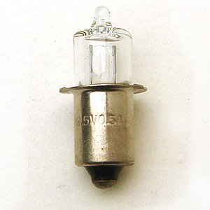 ハロゲン球 2.5V-0.5A 2個入り|tanpopo