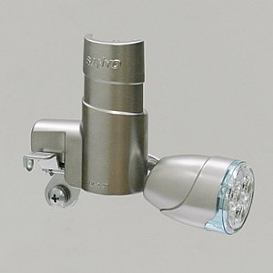 LED発電ランプ SKL095 3灯白色LEDブロックランプ|tanpopo