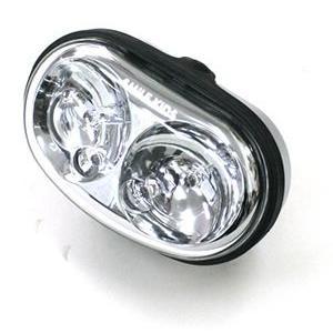 自動点灯サイクルライト カゴ取付型 AHA-3305|tanpopo