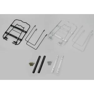 メッシュワンタッチ取り付け金具 ブラック 別売後ろカゴ R-20対応部品|tanpopo