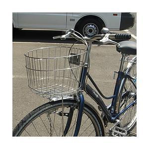 ステンレス製 自転車用円形前かご  SST-502 センタン tanpopo