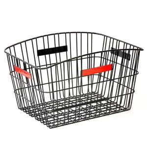 【お取り寄せ商品】自転車用ワイヤーリアバスケット R-1 ブラック【納期約7日〜】|tanpopo