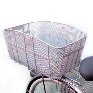 大型自転車用バスケット スーパーか〜ご 前後兼用|tanpopo