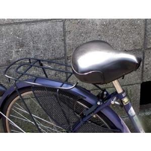 自転車用サドルカバー 黒|tanpopo