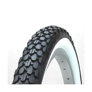 【取り寄せ商品】ビーチクルーザータイヤ 1本 26×2.125 H/E 黒白|tanpopo