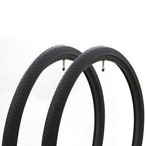 共和 自転車用 タ・チペア仕様 タイヤ2本 チューブ2本 自転車1台分 24インチ 26インチ 27インチ|tanpopo