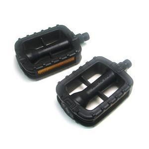 自転車用プラスチックペダル 黒|tanpopo