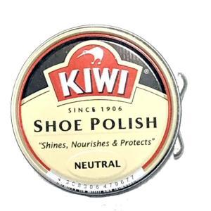 KIWI小缶油性クリーム無色 ニュートラル 透明 キウイ 靴墨 靴クリーム |tanpopo