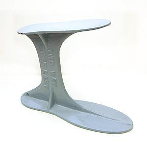 テラオ 靴修理台 金台 2WAYシューラスト メンズ・レディース スニーカー パンプスなどのかかと 靴底 ソール の交換やひび割れ 剥がれ修理に|tanpopo