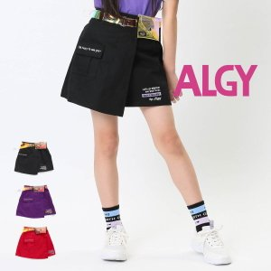 【セール/10%OFF】20'夏新作 ALGY アルジー ウエストバッグ付ラップスカート g318110 子供服 ジュニアJr メール便送料無料 tanpopokids