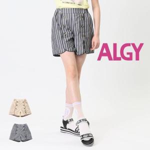 【セール/10%OFF】20'夏新作 ALGY アルジー 前ボタンパイピングショートパンツ g323060 子供服 ジュニアJr メール便送料無料 tanpopokids