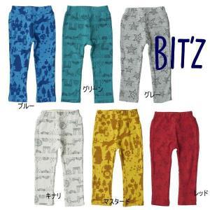 18'秋新作 BIT'Z ビッツ 3柄6色保育園パンツ b420028 子供服 メール便送料無料|tanpopokids