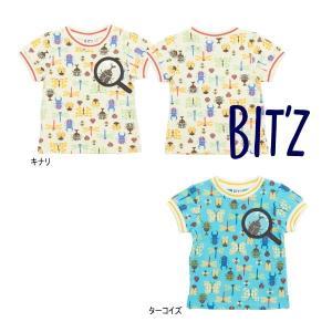 【セール/10%OFF】20'夏新作 BIT'Z ビッツ 昆虫むしめがね半そでTシャツ b307050 ベビー 子供服 メール便送料無料 tanpopokids