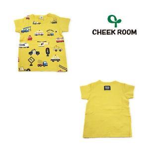 【セール30%OFF】20'夏新作 CHEEK ROOM 知育ルーム DOKOKANAポケはたらく車Tシャツ ベビー 子供服 メール便送料無料|tanpopokids