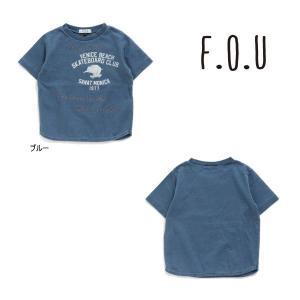 【セール/10%OFF】21'夏新作 F.O.U エフオーユー ゾウptインディゴ半袖Tシャツ i307121 子供服 ジュニアJr メール便送料無料|tanpopokids