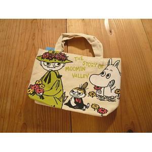 【輸入雑貨】ムーミンマチ付きコットンミニバッグ|tanpopokids